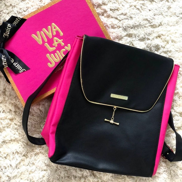 Juicy Couture Handbags - NEW Juicy Couture Backpack